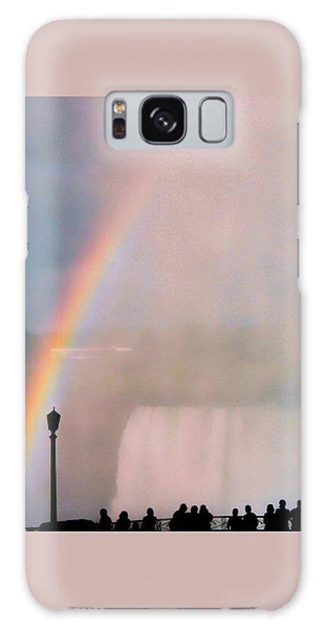 Rainbow Galaxy Case featuring the photograph Rainbow Falls by Pharris Art