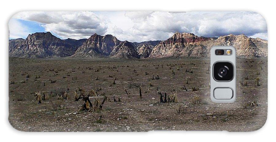 Desert Galaxy S8 Case featuring the photograph Rainbow Mountain by Steve Ondrus