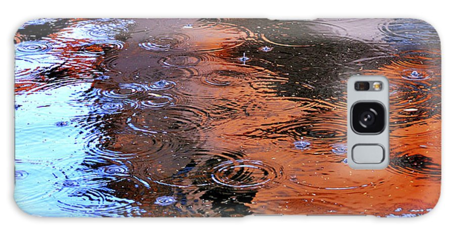 Drops Galaxy S8 Case featuring the photograph Raindrops 29412 by Jerry Sodorff
