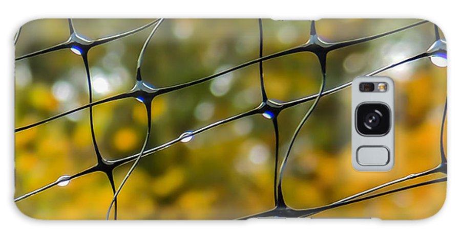 Rainy Autumn Morning Galaxy S8 Case featuring the photograph Rainy Autumn Morning by Robert Mitchell