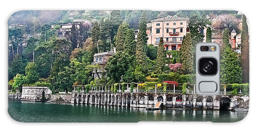 Travel Galaxy S8 Case featuring the photograph Rainy Day In Como by Elvis Vaughn