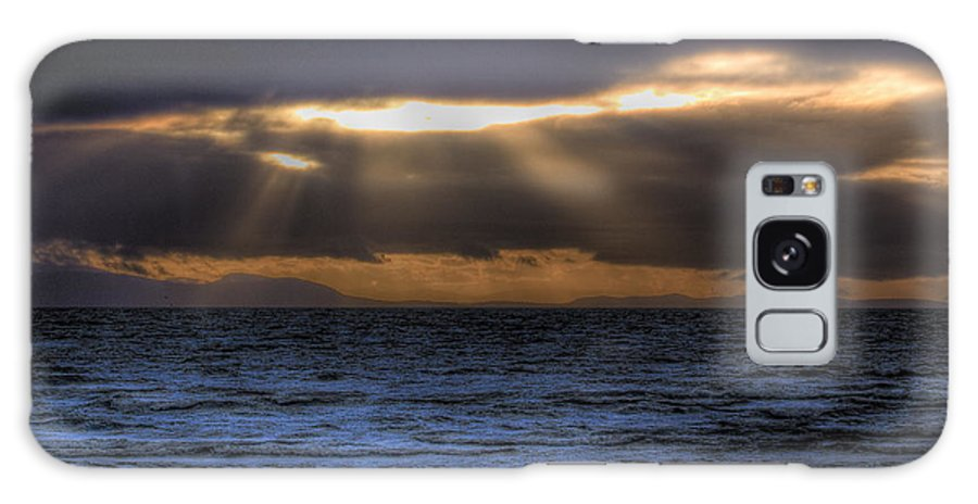 Sun Rays Galaxy S8 Case featuring the photograph Rays Of Light by Naman Imagery