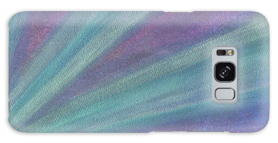 Abstract Galaxy S8 Case featuring the painting Rays Of Light by Vanessa Favero