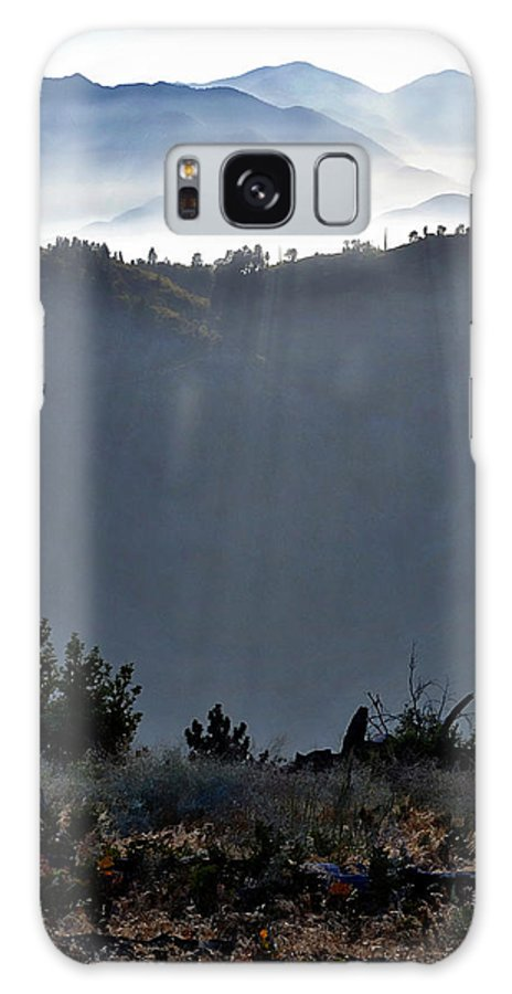 Landscape Galaxy S8 Case featuring the photograph Rays by Randal Bruck