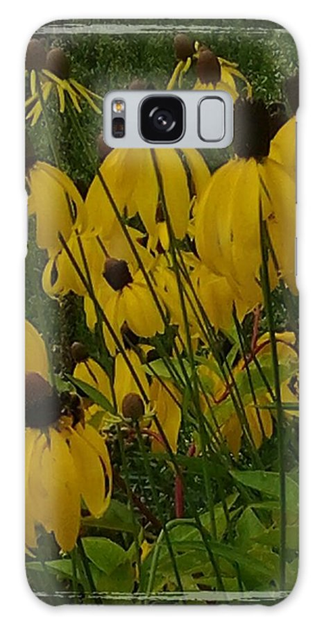 Flower Nature Colors Galaxy S8 Case featuring the photograph Reaching by Susan Joseph