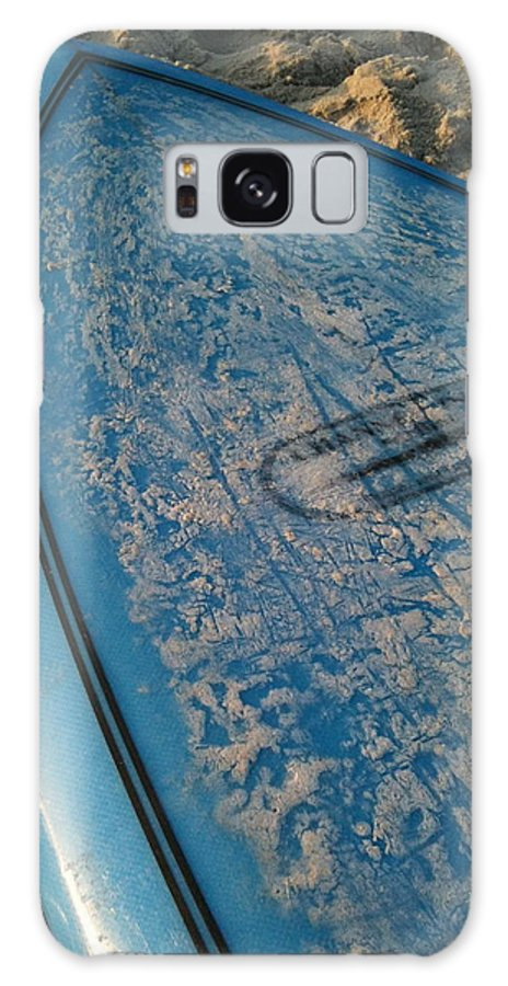 Sand Galaxy S8 Case featuring the photograph Ready For Waves by M West