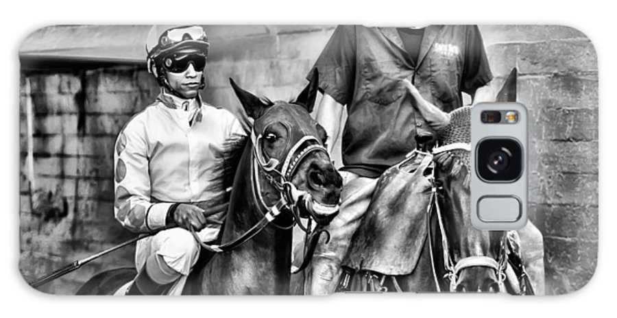 Horses Galaxy S8 Case featuring the photograph Ready To Race by Camille Lopez