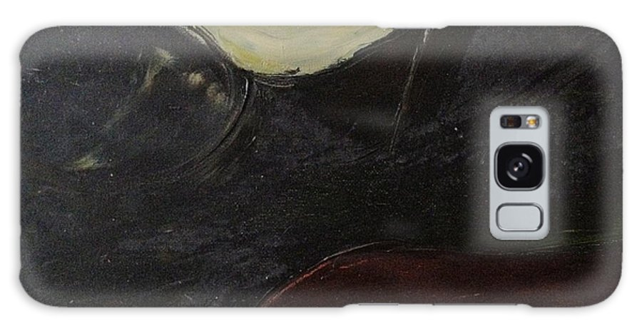 Nude Galaxy S8 Case featuring the painting Reclining Nude by Diane Phelps