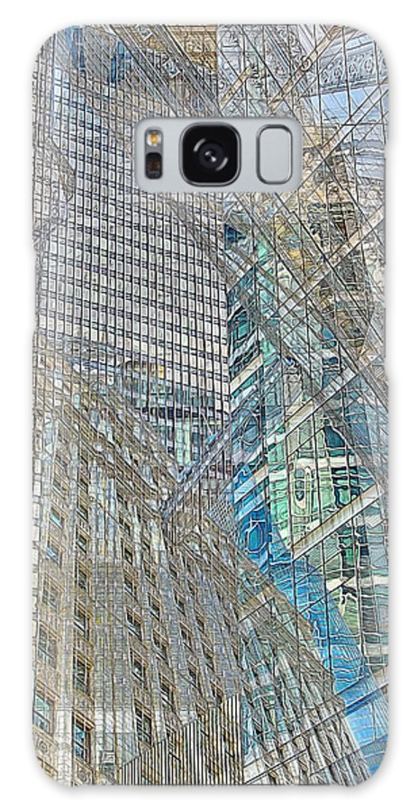 Digital Galaxy S8 Case featuring the photograph Reconstructing Architecture 9 by Kevin Eatinger
