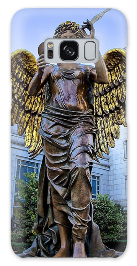 Schermerhorn Galaxy S8 Case featuring the photograph Recording Angel by Diana Powell