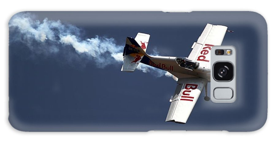 Redbulls Aerobatics Galaxy S8 Case featuring the photograph Red Bull - Aerobatic Flight by Ramabhadran Thirupattur