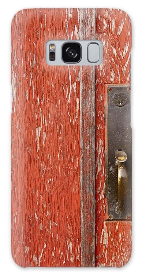Door Galaxy S8 Case featuring the photograph Red Door by Rae Tucker