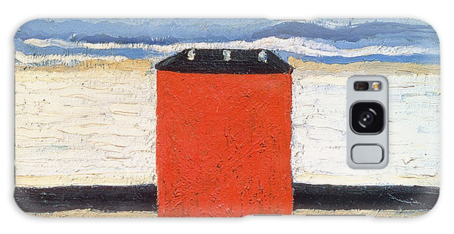 Suprematist Galaxy S8 Case featuring the photograph Red House, 1932 Oil On Canvas by Kazimir Severinovich Malevich