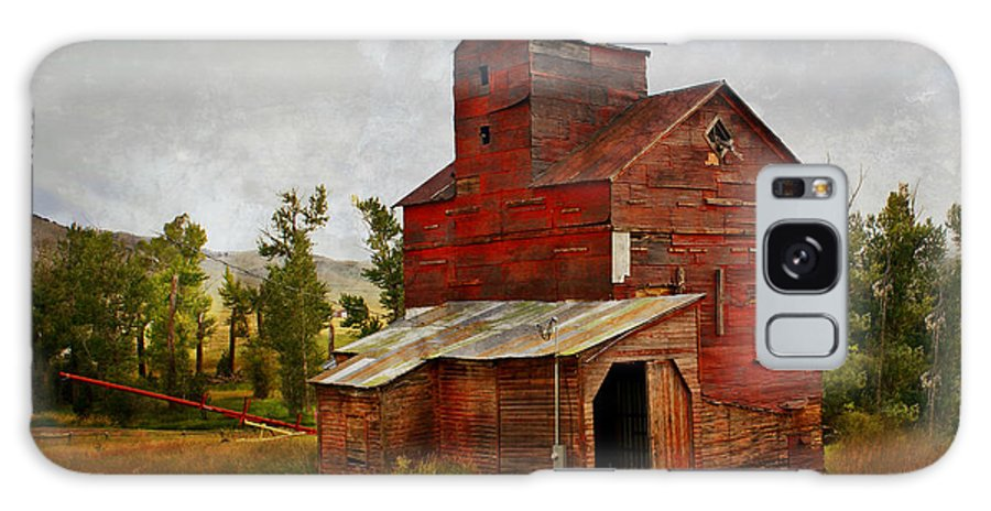 Historic Building Galaxy S8 Case featuring the photograph Red Mill Montana by Marty Koch