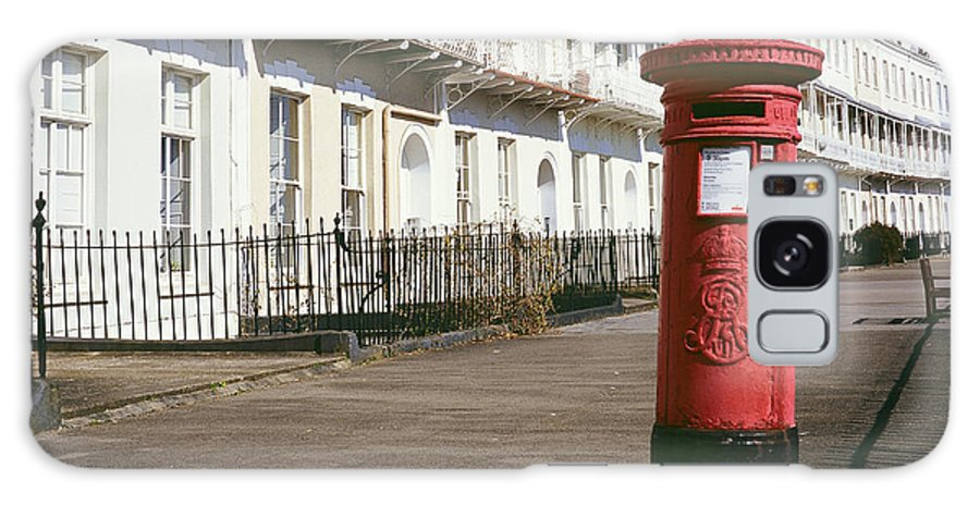 Uk Galaxy S8 Case featuring the photograph Red Postbox by Christopher Rees