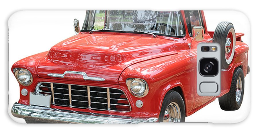 Antique Galaxy S8 Case featuring the photograph Red Truck by Les Palenik