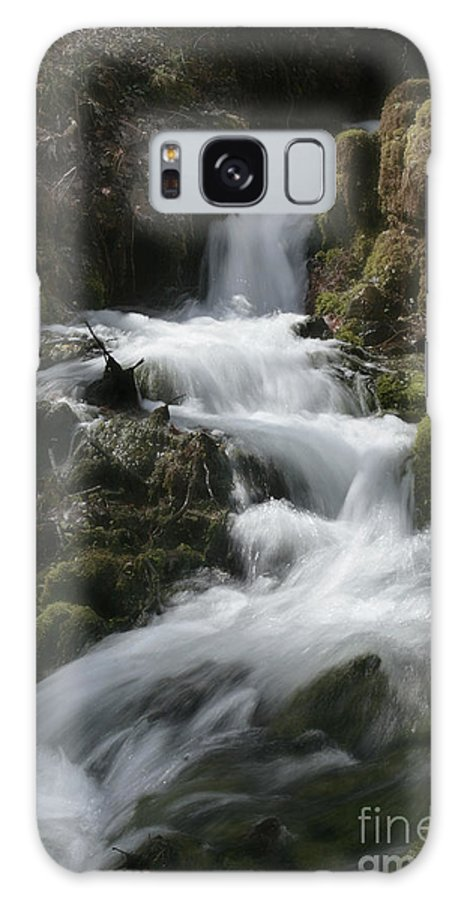 Waterfall Galaxy S8 Case featuring the photograph Reeds Springs Falls by Garry McMichael