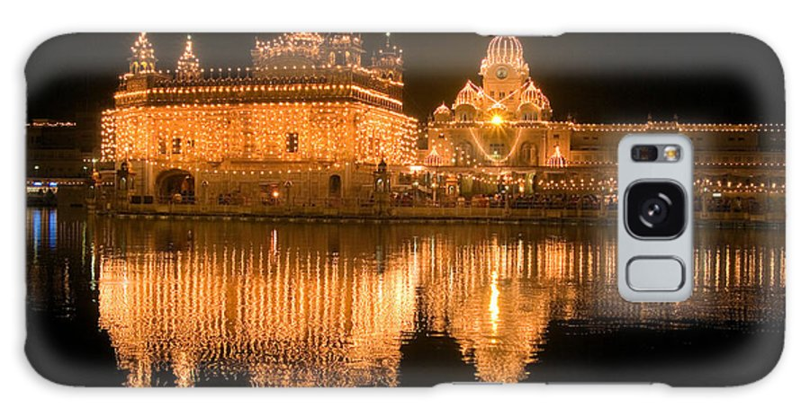 Golden Temple Galaxy S8 Case featuring the photograph Reflected by Devinder Sangha