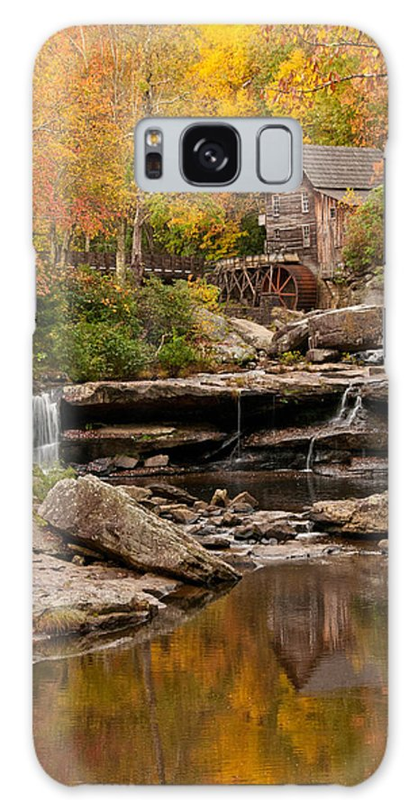 Autumn Galaxy S8 Case featuring the photograph Reflection by Jim Southwell