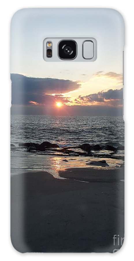 Reflections Galaxy S8 Case featuring the painting Reflections Cape May Point by Eric Schiabor