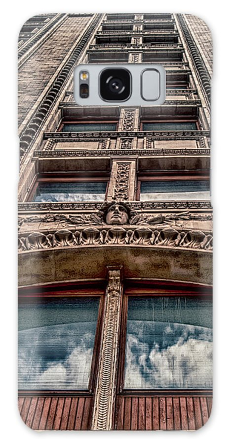 Architecture Galaxy S8 Case featuring the photograph Reflections In A Window by Jon Cody