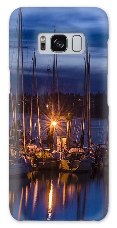 Reflections Galaxy S8 Case featuring the photograph Reflections In The Night by Irene Theriau