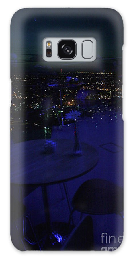 Spinnaker Galaxy S8 Case featuring the photograph Reflections Table With A View by Terri Waters