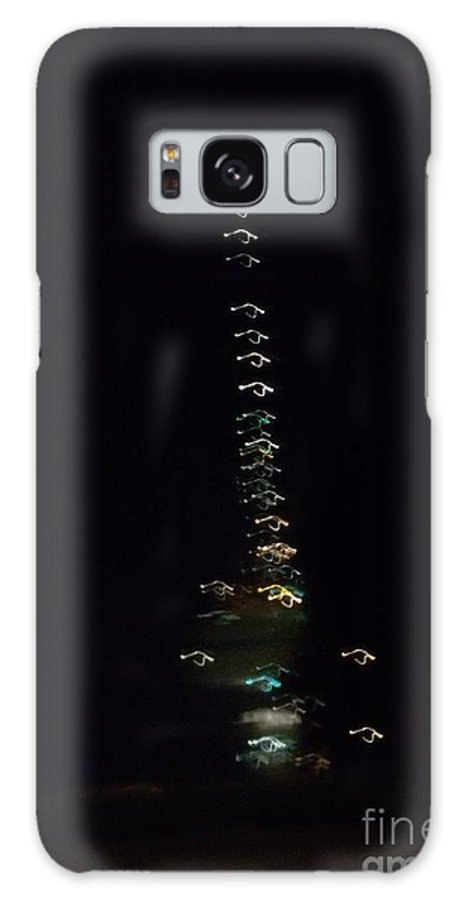 Reflective Light Galaxy S8 Case featuring the photograph Reflective Light Show by Gail Matthews