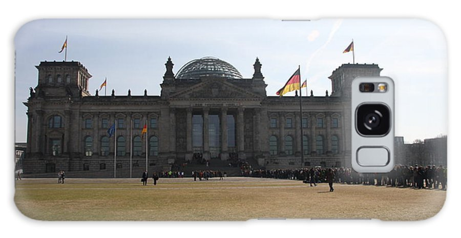 Reichstag Galaxy S8 Case featuring the photograph Reichstag Berlin - German Parliament by Christiane Schulze Art And Photography