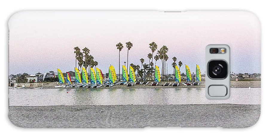 Rental Galaxy S8 Case featuring the digital art Rental Sailboats by Photographic Art by Russel Ray Photos