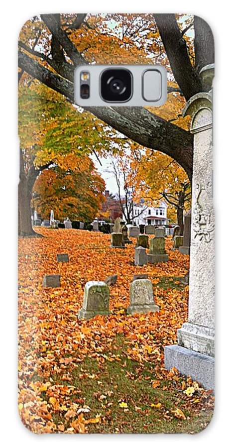 New England Galaxy S8 Case featuring the photograph Rest In Peace by Caroline Stella