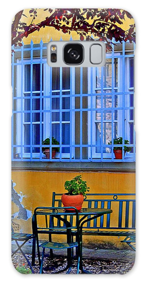 Italy Galaxy S8 Case featuring the photograph Restful Scene by Caroline Stella