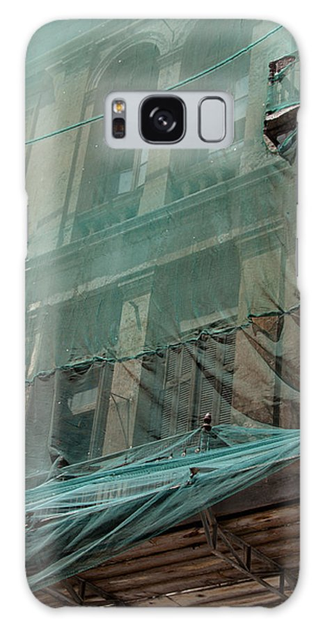 Architecture Galaxy S8 Case featuring the photograph Restoration Of A Villa by Frank Gaertner