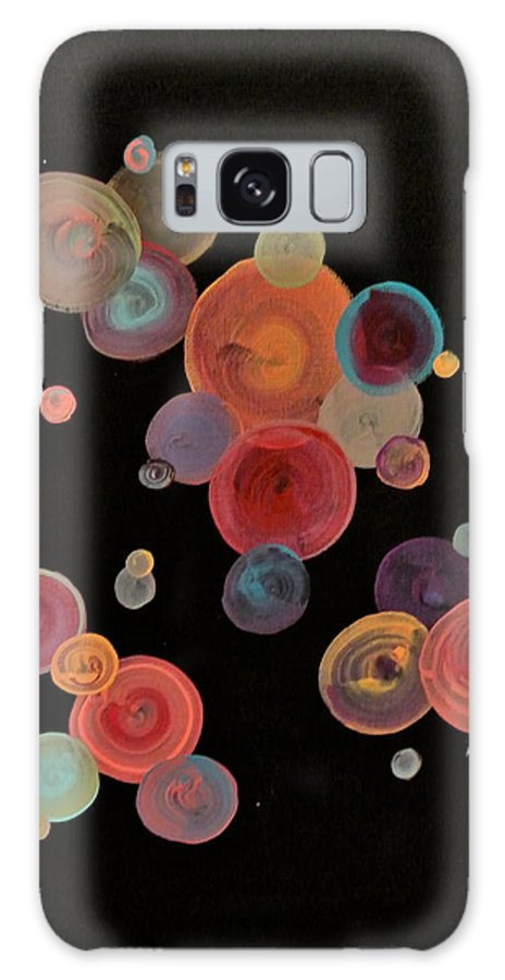 Retro Galaxy S8 Case featuring the painting Retro by Ashley Irving