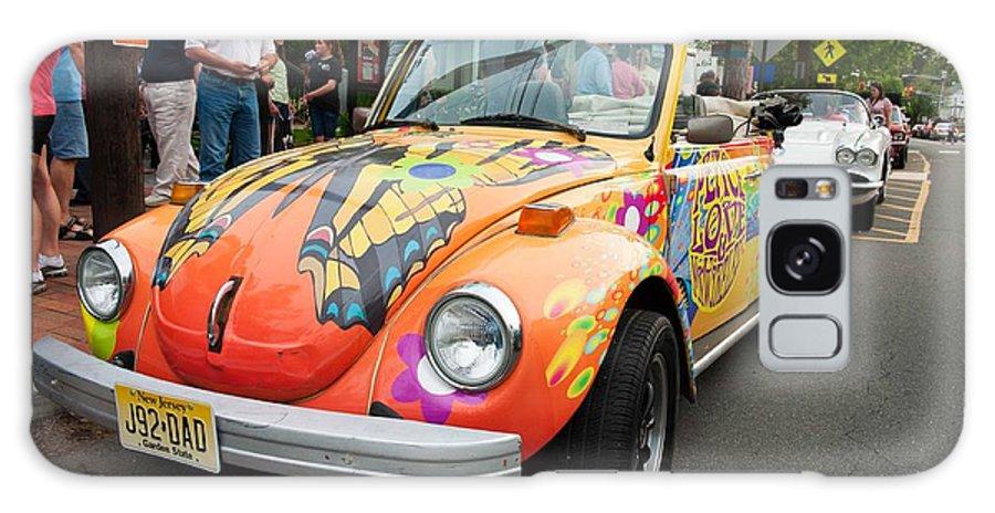 Car Galaxy S8 Case featuring the photograph Retro Bug by Keith Swango
