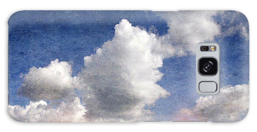 Retro Galaxy S8 Case featuring the digital art Retro Clouds 2 by Steve Ball