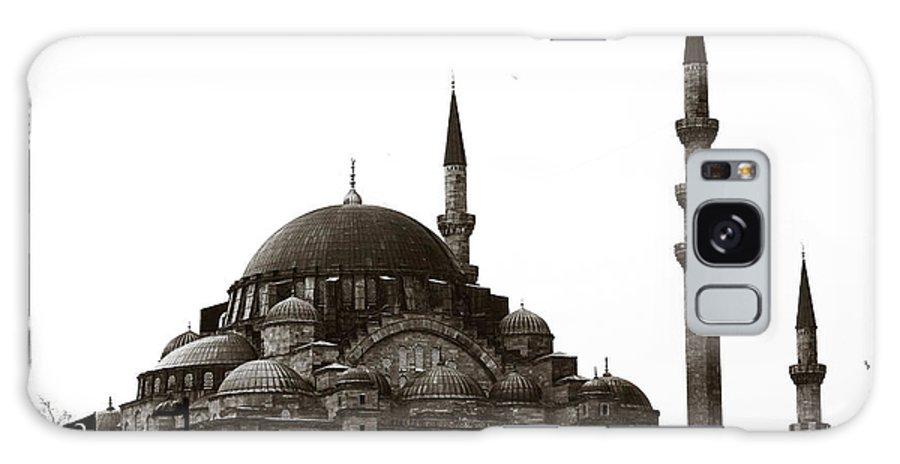 Retro Sultanahmet Mosque Galaxy S8 Case featuring the photograph Retro Sultanahmet Mosque by John Rizzuto
