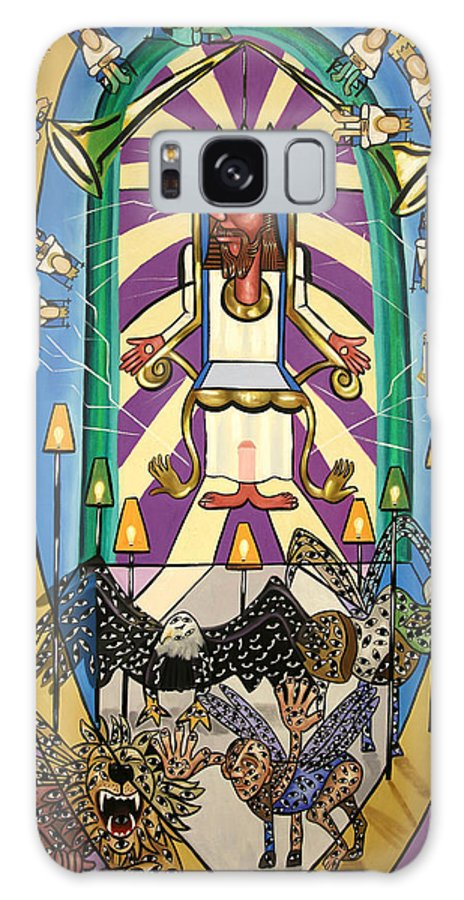 Revelation Chapter 4 Galaxy S8 Case featuring the painting Revelation Chapter 4 by Anthony Falbo