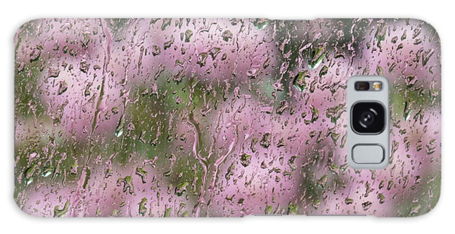 Rhododendrons Galaxy S8 Case featuring the photograph Rhodies In The Rain by Lili Feinstein