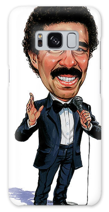 Richard Pryor Galaxy S8 Case featuring the painting Richard Pryor by Art