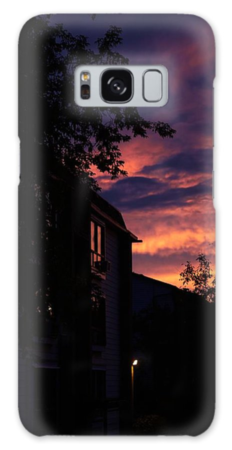 Dusk Galaxy S8 Case featuring the photograph Riders Of The Storm by Kellianne Hutchinson