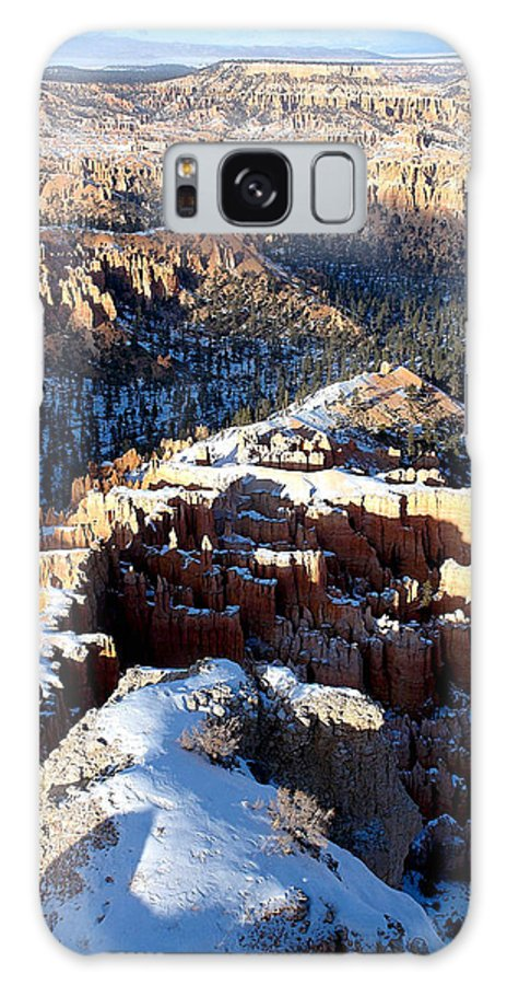 Landscapes Galaxy S8 Case featuring the photograph Ridgeline by Roger Burkart