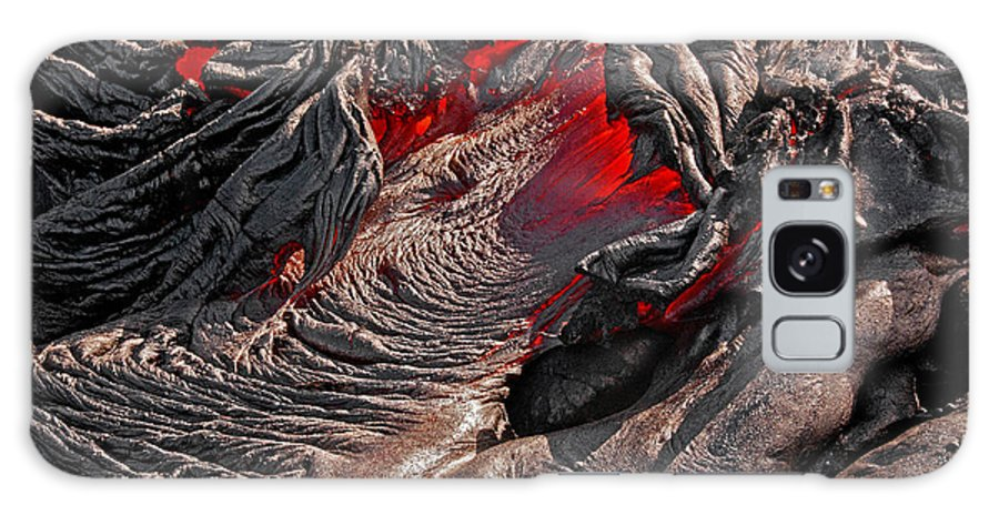 Hawaii Galaxy S8 Case featuring the photograph Ring Of Fire by Jim Southwell