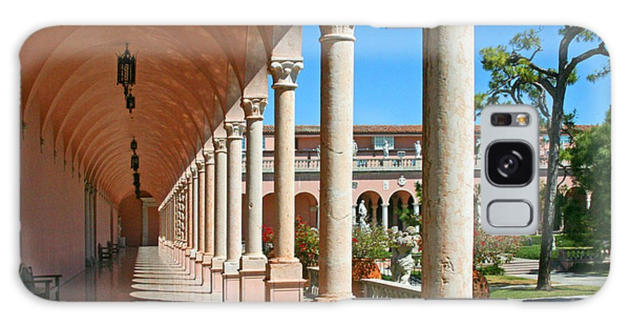 Museum Galaxy S8 Case featuring the photograph Ringling Museum Gardens by Mariarosa Rockefeller