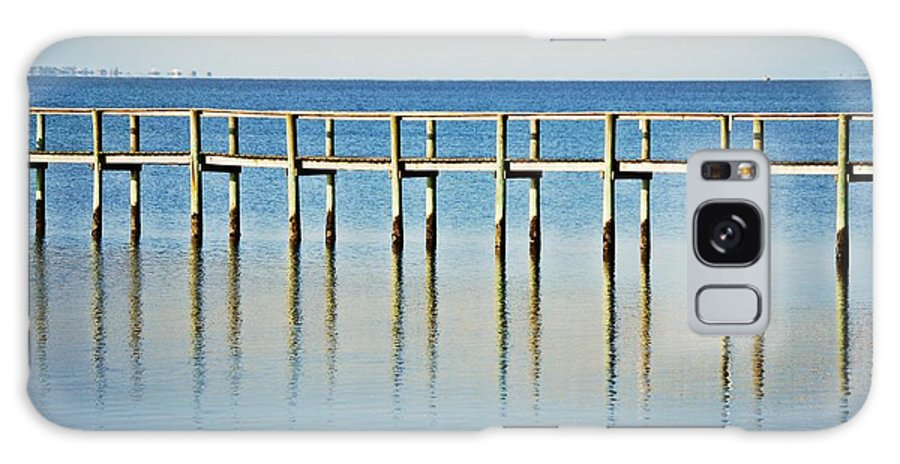 Gulf Galaxy S8 Case featuring the photograph Rippled Reflections by Judy Hall-Folde