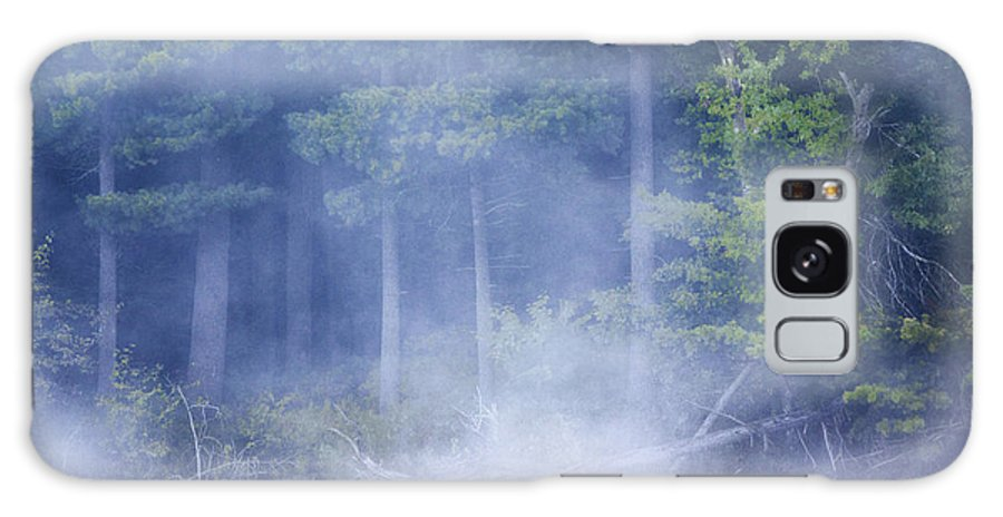 Mist Galaxy S8 Case featuring the photograph Rising Mist by Barbara Smith