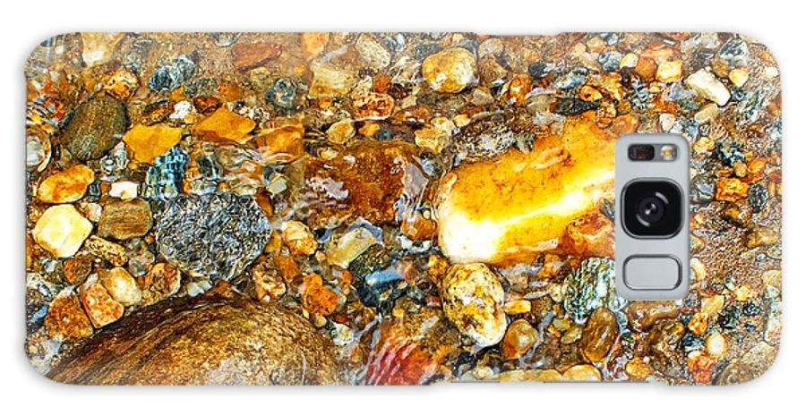 Duane Mccullough Galaxy S8 Case featuring the photograph River Rocks 10 by Duane McCullough