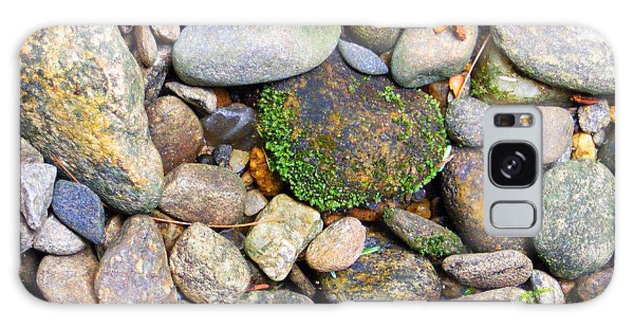 Duane Mccullough Galaxy S8 Case featuring the photograph River Rocks 2 by Duane McCullough