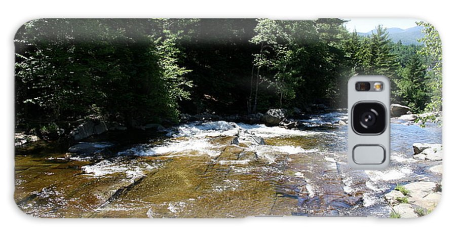 River Galaxy S8 Case featuring the photograph River Running Over Rocks by Christiane Schulze Art And Photography