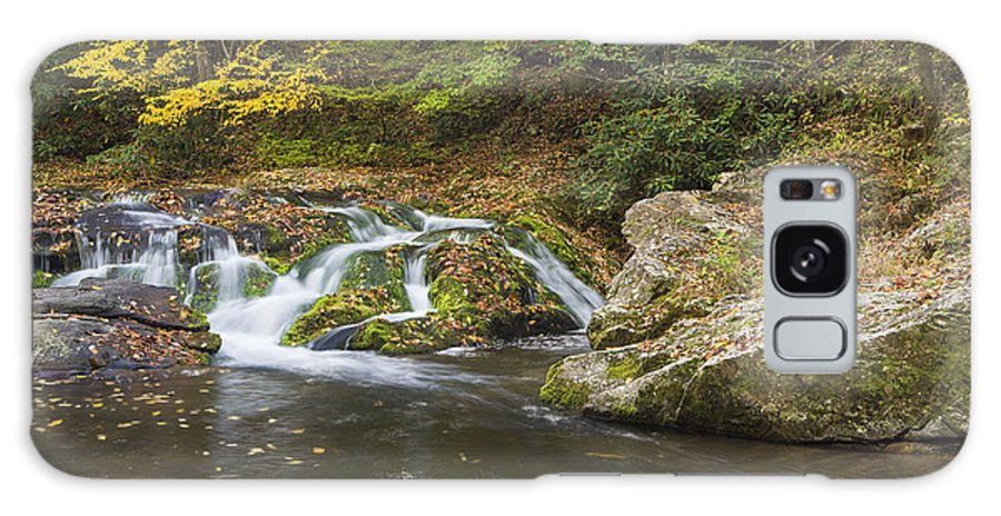 Cades Cove Galaxy S8 Case featuring the photograph River With Color by Randy Lesley